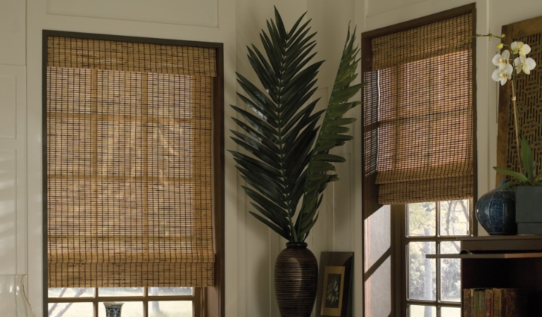 Camel woven shades in Kingsport