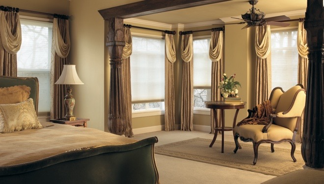 Kingsport drapes and shades