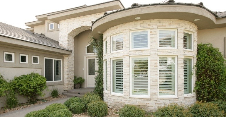 Exterior shutters Kingsport home