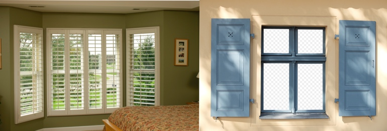 Kingsport TN interior and exterior shutters