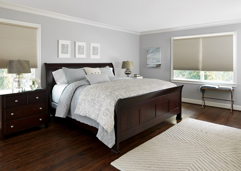 Kingsport blackout shades bedroom
