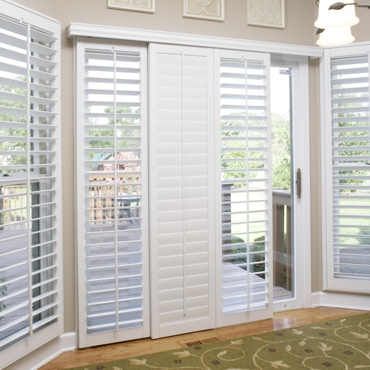 Kingsport Sliding Patio Door Shutters