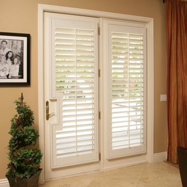 Patio French Door Shutters Kingsport