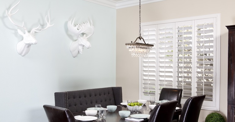 Kingsport dining room shutters