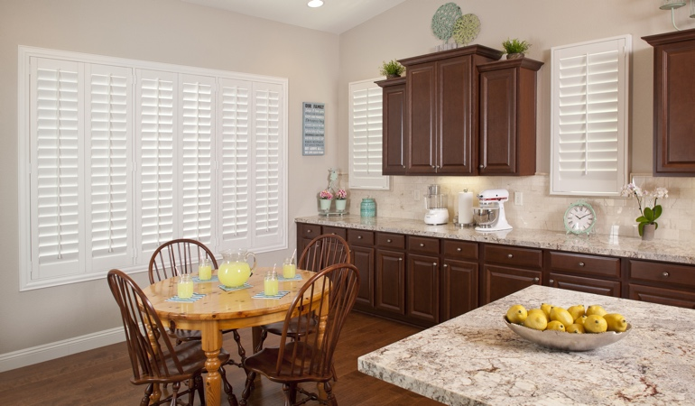 Polywood Shutters in Kingsport kitchen