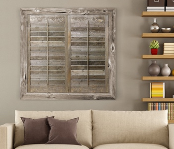 Reclaimed Wood Shutters Product In Kingsport