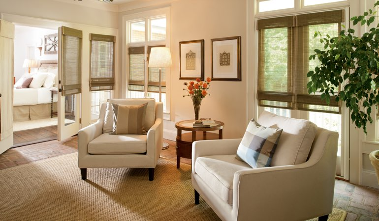 New window treatments for spring cleaning