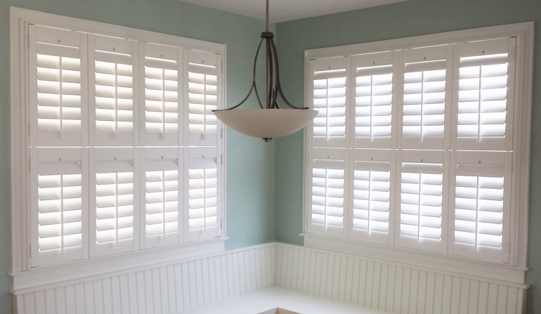 Kingsport plantation shutters in booth