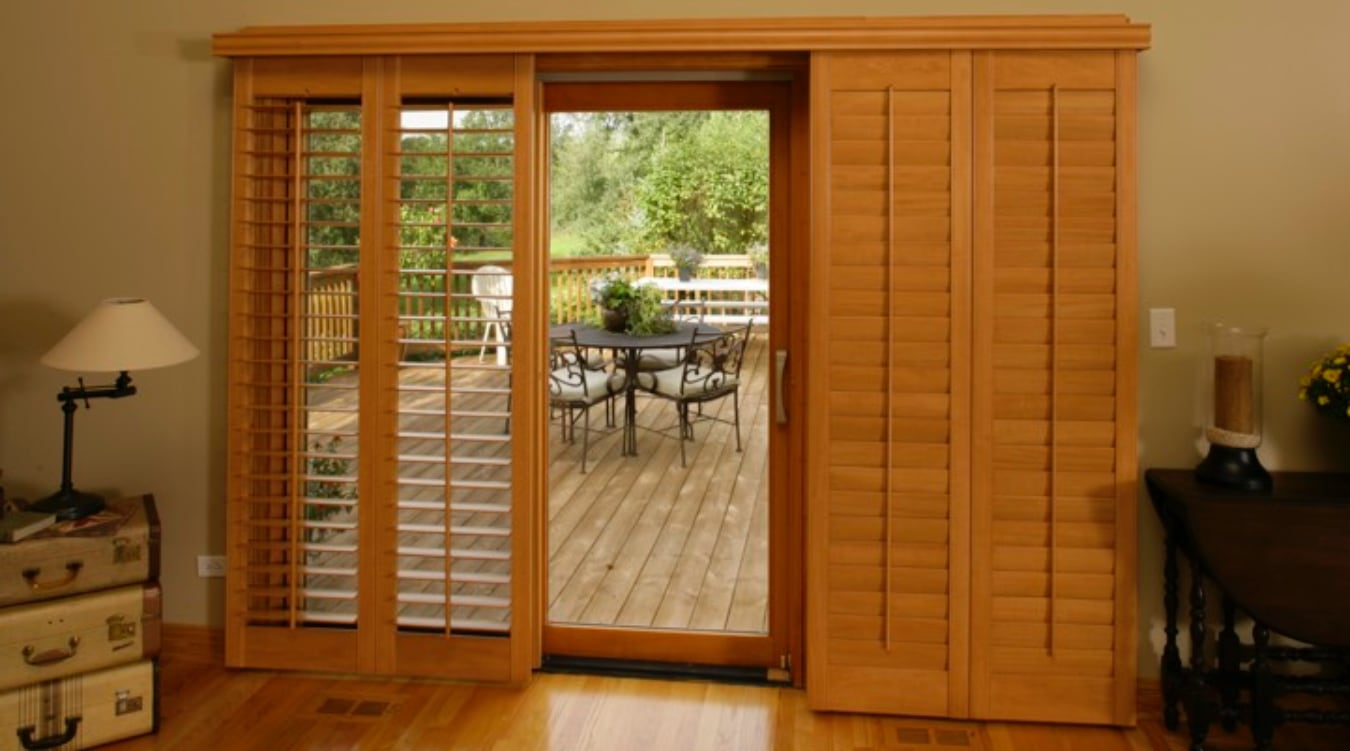 Sliding Glass Door Shutter In Kingsport