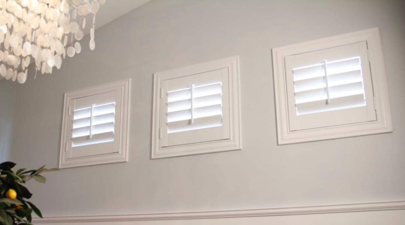 Kingsport small window shutters