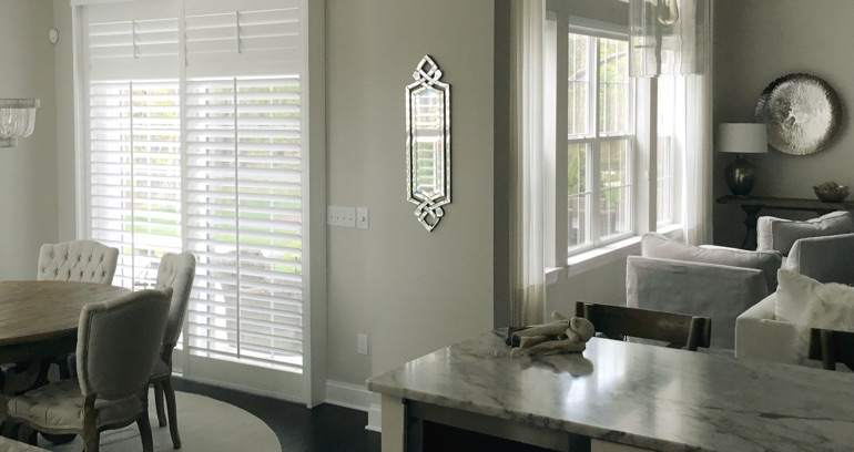 Kingsport kitchen sliding glass door shutters