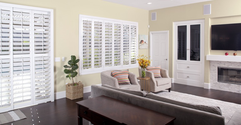 Cleaning Polywood shutters in Kingsport is easy