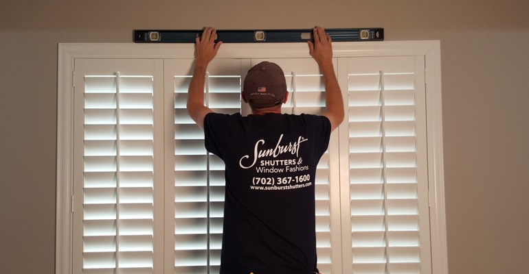 Kingsport plantation shutter measurement