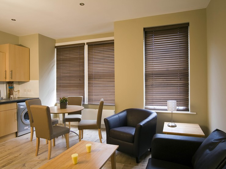 wood blinds in Kingsport.